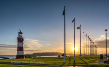 Plymouth Hoe Sunset DV57