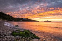 Meadfoot Beach Sunrise  T122