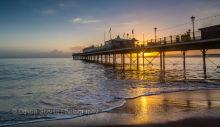 Paignton Pier Sunrise P21