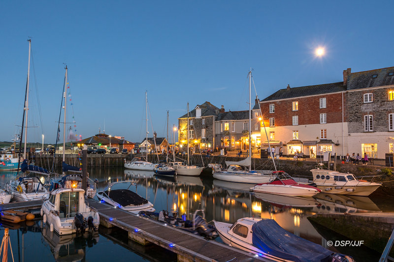 Padstow by Moonlight CW09