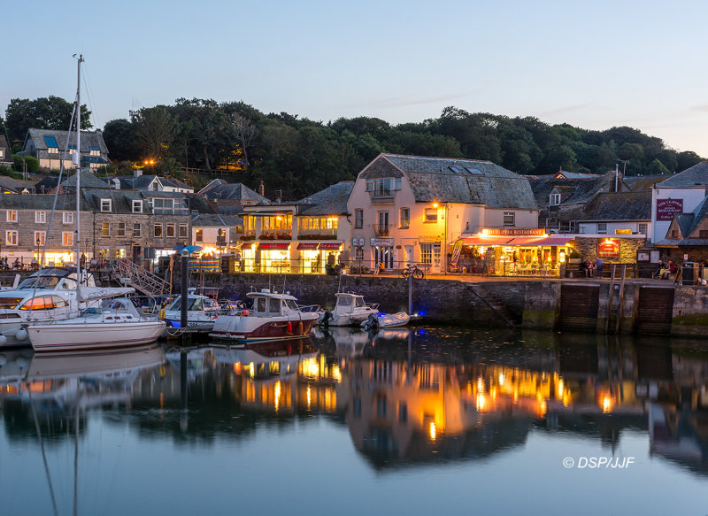 Padstow at Dusk CW08