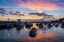 Paignton Harbour Sunrise P33