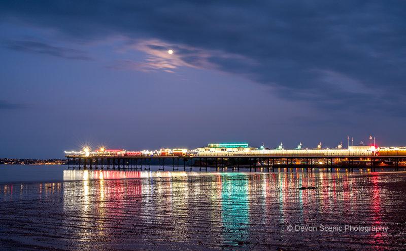 Paignton Pier Reflections P36