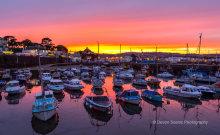 Paignton Harbour Sunset P30