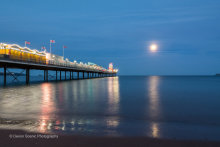 Paignton Pier By Moonlight P31