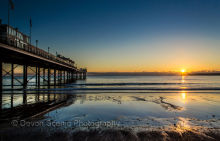 Paignton Pier Sunrise P12