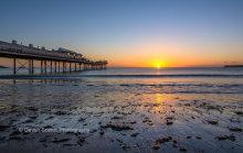 Paignton Pier Sunrise P27