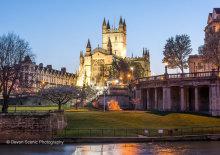 Bath Abbey At Twilight SOM04