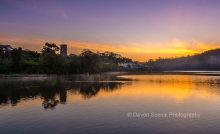 Millpool Sunrise, Stoke Gabriel P25