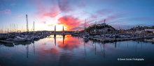 Torquay Harbour Sunset T148