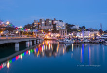 Torquay Marina At Night T169