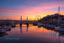 Torquay Harbour Sunset T170