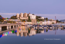 Torquay Harbour At Dusk T163