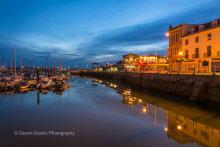 Torquay Harbour at Twilight T140