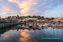 Inner Harbour Sunset T150