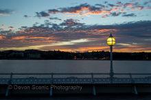 Torquay Pier Sunset T32