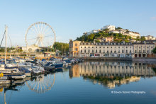 Torquay Harbour Reflections TW34