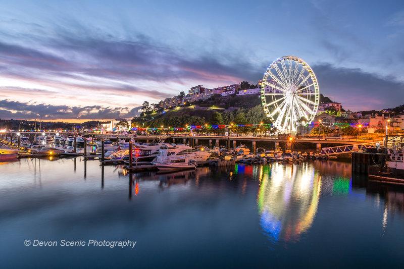 Torquay Harbour at Twilight TW37