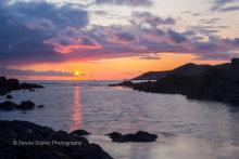 Woolacombe Sunset DV16