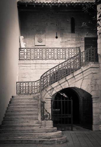 Church Stairs, St-Jean de Luz, France 2010