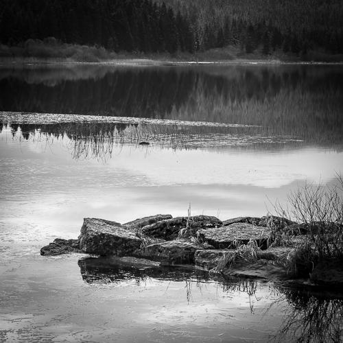 Stones, Lac de Remoray, France 2013