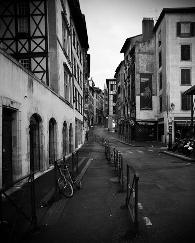Street Scene, Petit Bayonne, France 2010