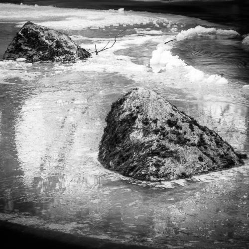 Frozen Rocks, La Venoge, Switzerland 2012