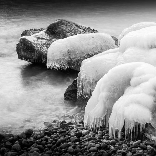 Icy Rocks, near Rolle, Switzerland 2012