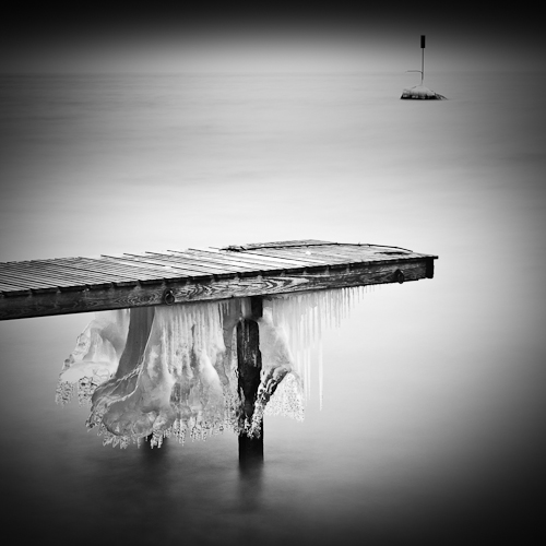 Pier & Icicles I, near Rolle, Switzerland 2012