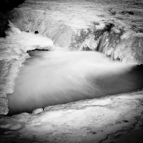 Ice-falls, Le Boiron, Switzerland 2012