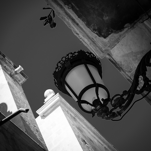 Streetlamp, Alicante, Spain 2013