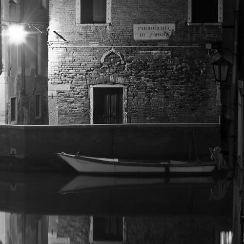 Fondamenta de la Fenice, San Marco, Venice, Italy 2011