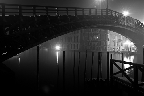 Ponte dell'Accademia, Venice, Italy 2011