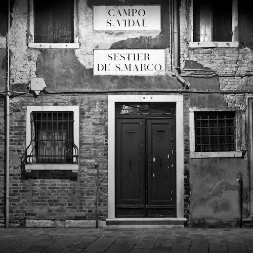 Campo San Vidal, San Marco, Venice, Italy 2011