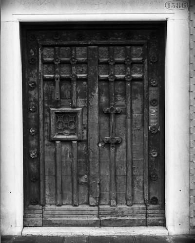 Door, Fondamenta Zattare, Venice, Italy 2011