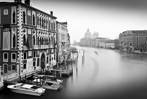 Grand Canal from Ponte dell'Accademia, Venice, Italy 2011