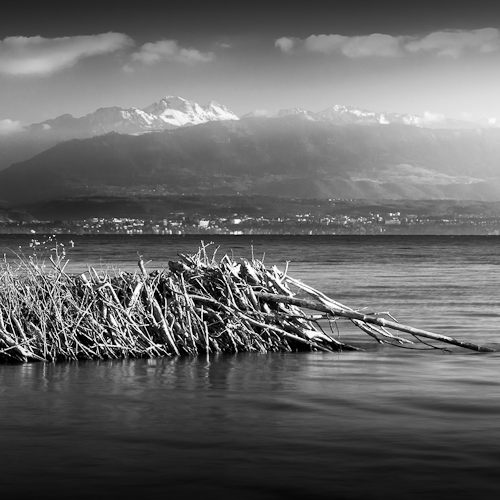 Beaver Dam & Mountains, L'Aubonne Switzerland 2012
