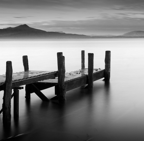 Jetty, Allaman Plage, Switzerland 2010
