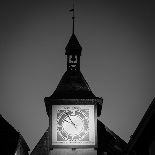 Clocktower, St-Prex, Switzerland 2014