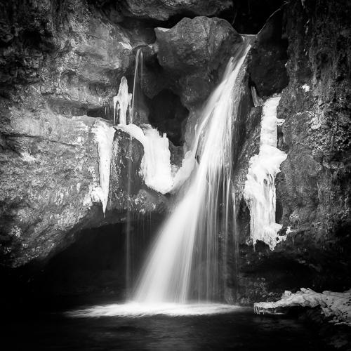 Waterfall, Tine de Conflens, Switzerland 2012