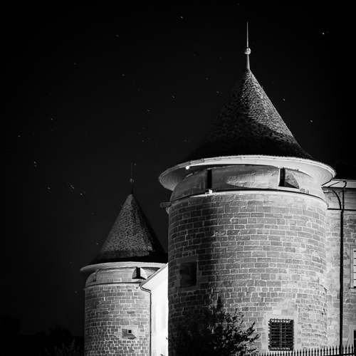 Twin Towers, Chateau de Morges, Switzerland 2014