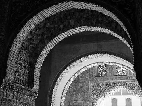 Arches I, , Alhambra, Granada, Spain 2013