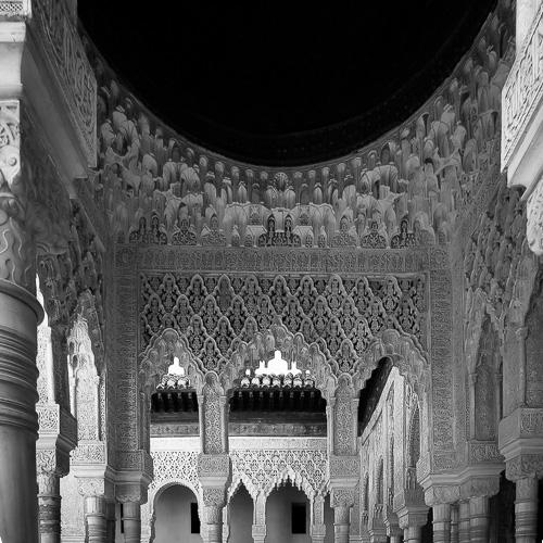 Palace Detail, , Alhambra, Granada, Spain 2013
