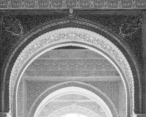 Arches II, , Alhambra, Granada, Spain 2013