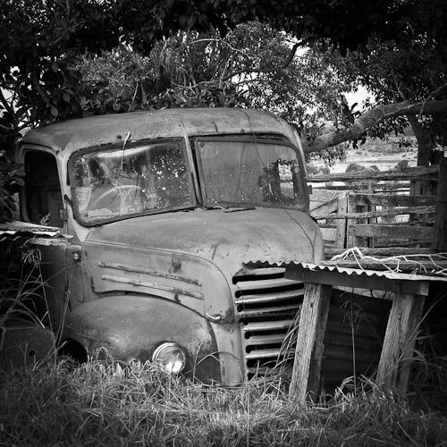 Abandoned Truck, Rockhampton, Australia 2009