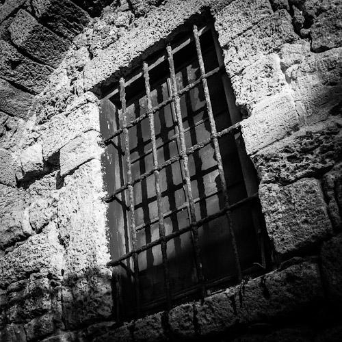 Barred Window, Old Jaffa