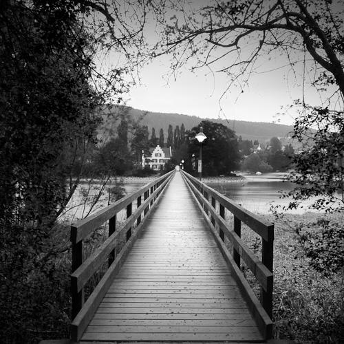 Bridge to Werd 1, Stein am Rhein, Switzerland 2011