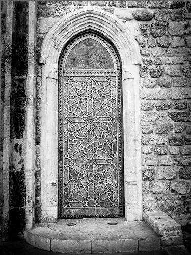 Metal Door, Old Jaffa