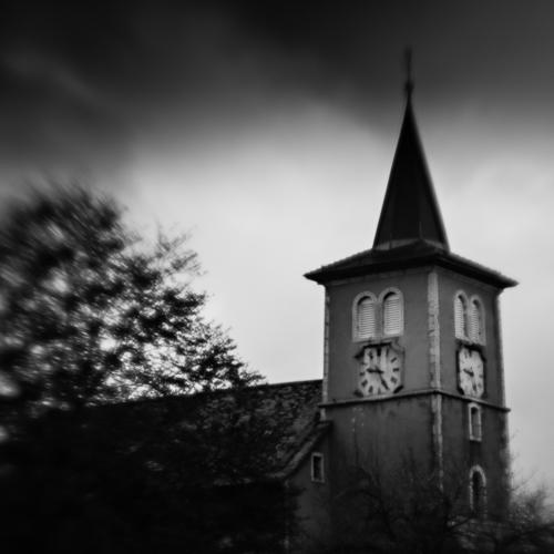 Church Steeple, L'Isle, Switzerland 2013