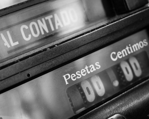 Cash Register, Figueres, Spain 2013